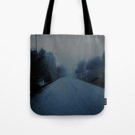 Lonely Road Tote Bag