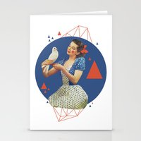 dorothy Stationery Cards featuring Dorothy by Cut and Paste Lady