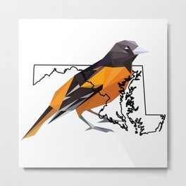 Maryland – Baltimore Oriole Metal Print