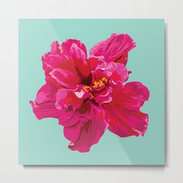Hibiscus (Part of a Triptych) Metal Print