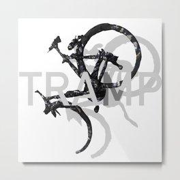 TRAMP Metal Print