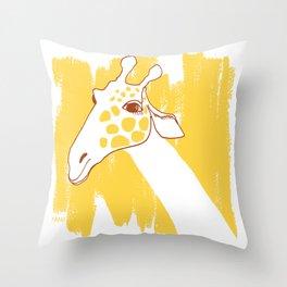 Serengeti Safari - Twiga Throw Pillow