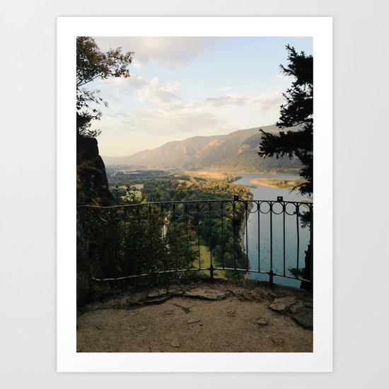 Columbia River Gorge Art Print