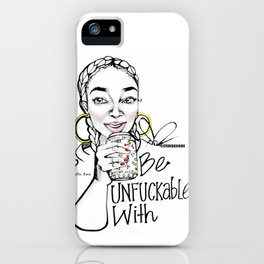 #STUKGIRL ALENA iPhone Case
