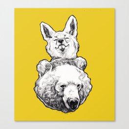 foxbear Canvas Print