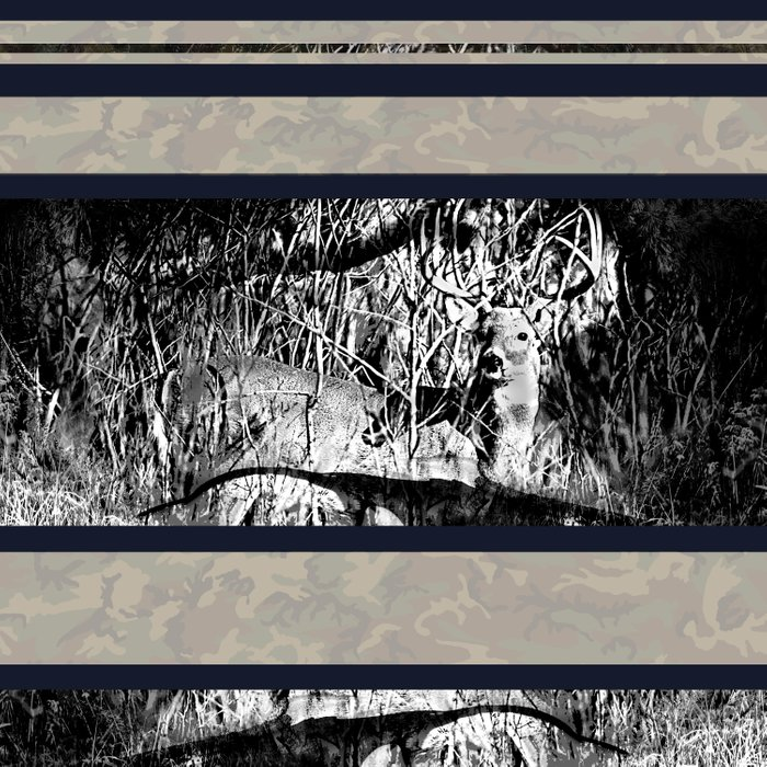 Whitetail Buck Hunting Design Comforters
