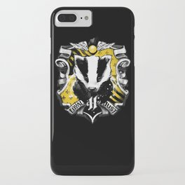 Hufflepuff Daddy iPhone Case