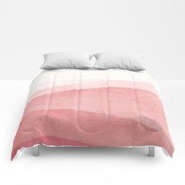 Blush Watercolour Sea Comforters