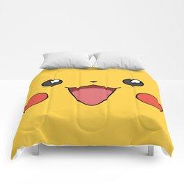 Kawaii Pika Monster v1 Comforters