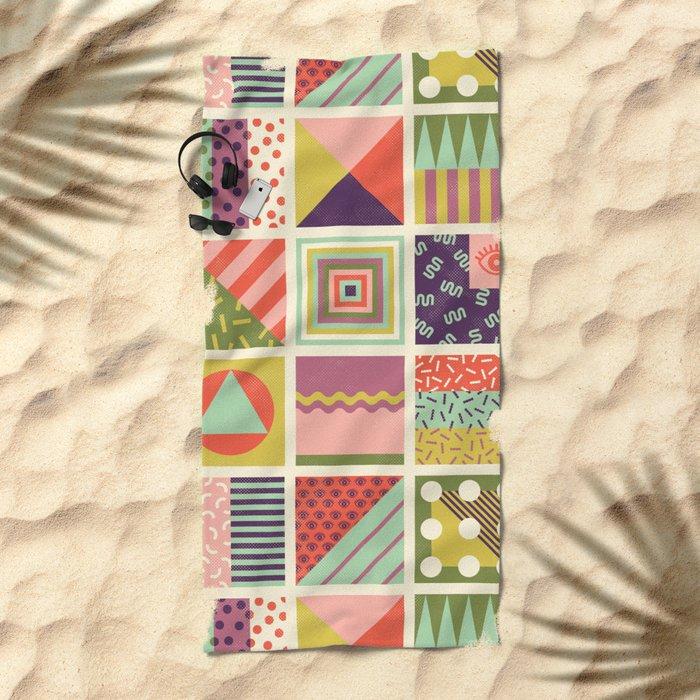 Patternz Beach Towel