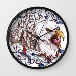 EAGLE Cadre T-shirt edition Wall Clock