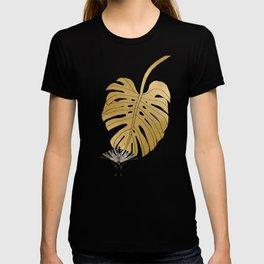 Botanical, Butterfly & Monstera T-shirt