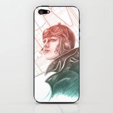 Amelia Earhart - Colourized iPhone & iPod Skin