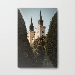 Roman-catholic church in Sombor, Serbia Metal Print