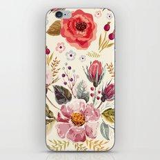 Floral Theme iPhone & iPod Skin