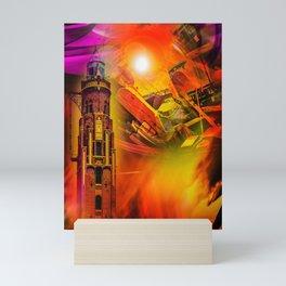 Lighthouse romance Mini Art Print