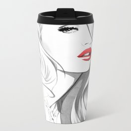 """Rosie"" Metal Travel Mug"