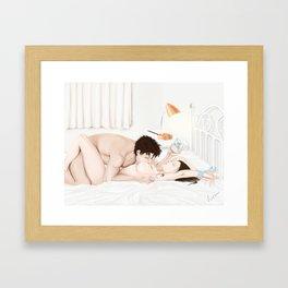 a la mode Framed Art Print