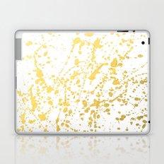 Splat White Gold Laptop & iPad Skin
