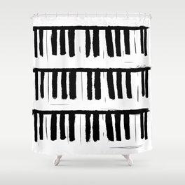 Piano Shower Curtain