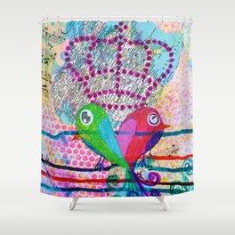 Royals - Quirky Bird Series Shower Curtain