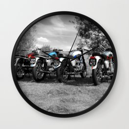 The Bonneville Four Wall Clock