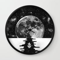 journey Wall Clocks featuring Endless Journey by Zach Terrell