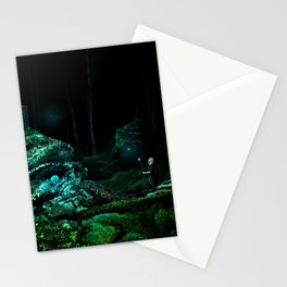 Silent Overgrowth Stationery Cards