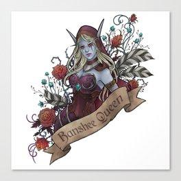 Queen of the Forsaken Canvas Print