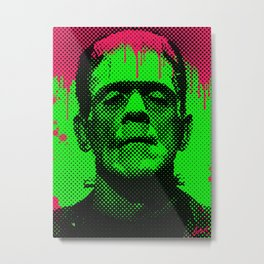 drippy Frank Metal Print