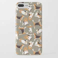 beagle scatter stone Slim Case iPhone 7 Plus