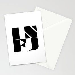 Type Type for INFJ Stationery Cards