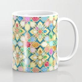 Gilded Moroccan Mosaic Tiles Coffee Mug