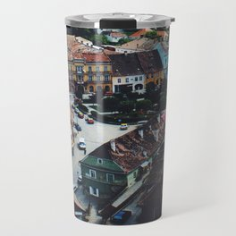 Streets of Transylvania Travel Mug