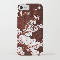 cherry blossoms iPhone & iPod Cases featuring Cherry Blossoms by Paula Belle Flores