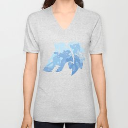 Wolves on the horizon Unisex V-Neck