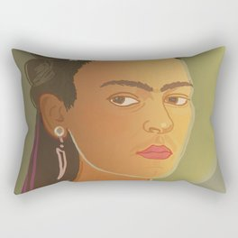 Dear Frida / Stay Wild Collection Rectangular Pillow