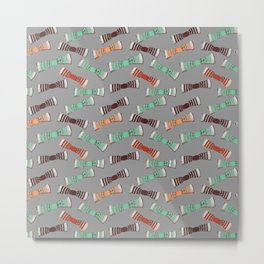 BOW TIES Metal Print
