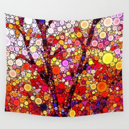 Planting Cherry Trees Wall Tapestry