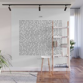 Live. Wall Mural