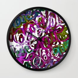 LOVE  3 Wall Clock