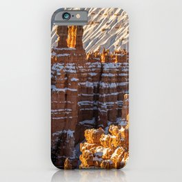 Sunset Point 0010 - Bryce_Canyon_Natonal_Park, Utah iPhone Case