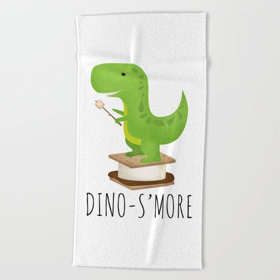 Dino-S'more Beach Towel