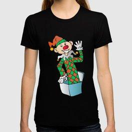 Cartoon Jack In The Box T-shirt