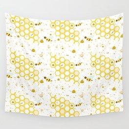 Honey Bees Wall Tapestry
