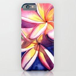 Plumeria Garden 3 iPhone Case