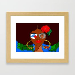 Pride and Culture Framed Art Print