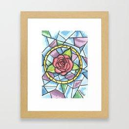 Rose Colored Glass Framed Art Print