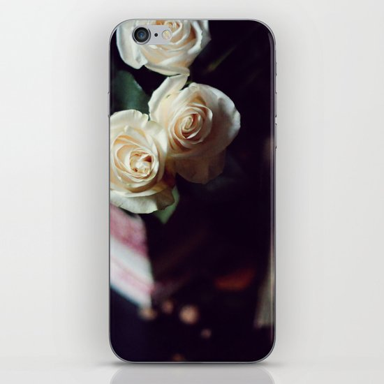 i'd rather have roses iPhone & iPod Skin