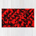 Camouflage Black and Red by saravalor